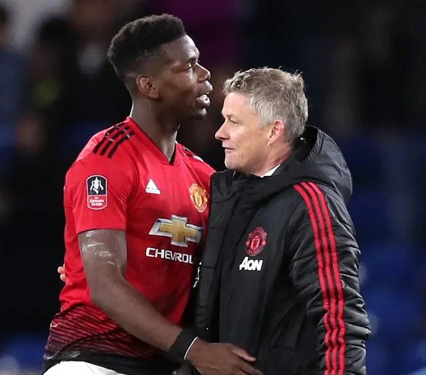 Pogba Wants Solskjaer To Stay At Man Utd