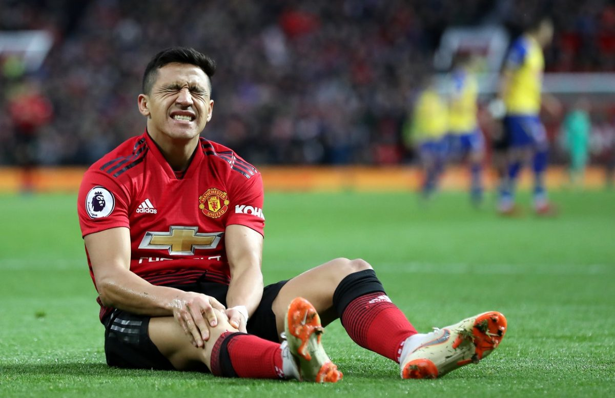 Manchester United Missing Sanchez