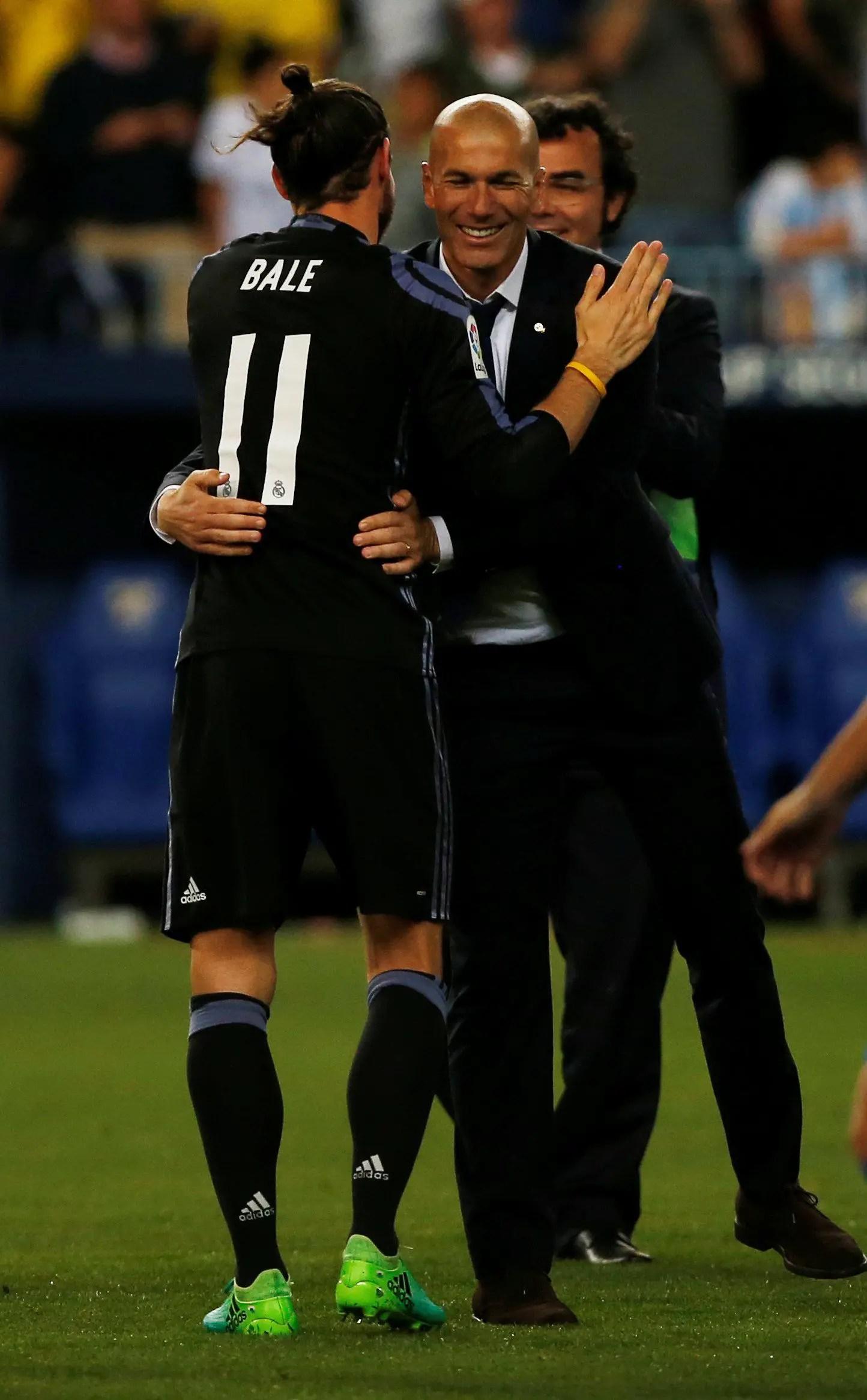 Zidane Coy Over Bale's Future