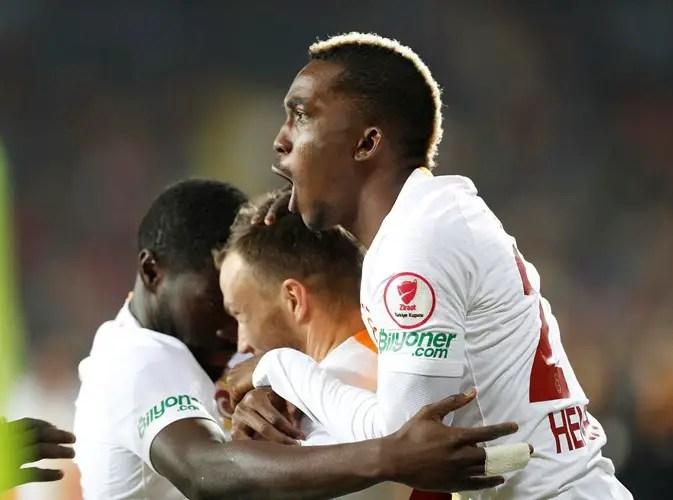 Onyekuru Relishes Galatasaray's Turkish Cup Progress, Targets Domestic Double
