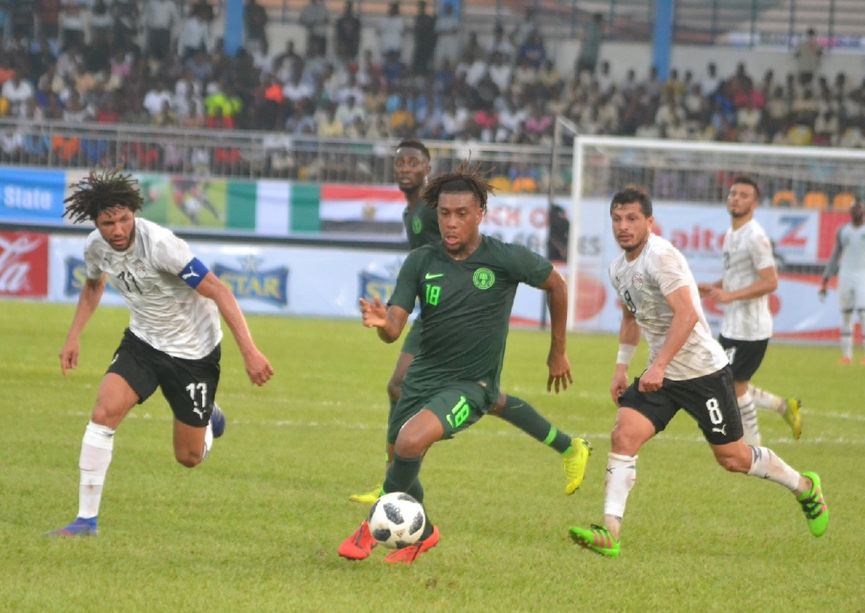 INTERVIEW – Iwobi: Egypt 2019 Is My First AFCON, Eagles Want To Win It; I'll Always Give 100%