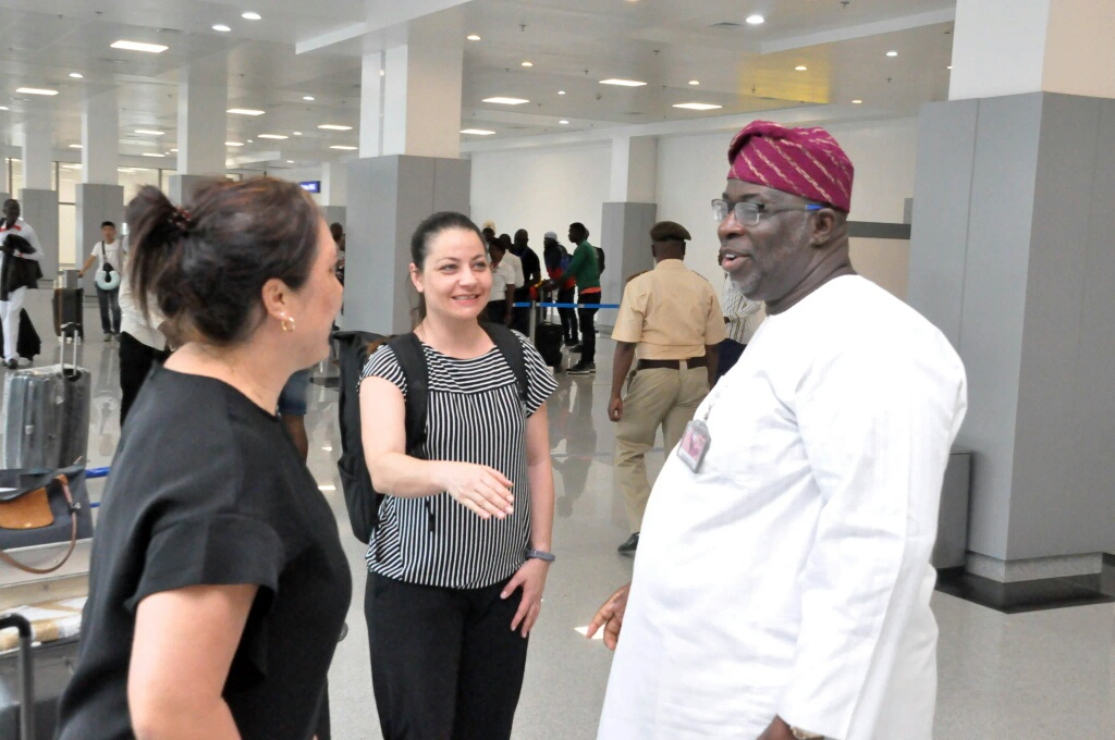 FIFA Officials Arrive Nigeria For Women's World Cup Trophy Tour