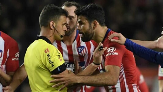 Costa Handed Eight-Match Ban For Referee Rant