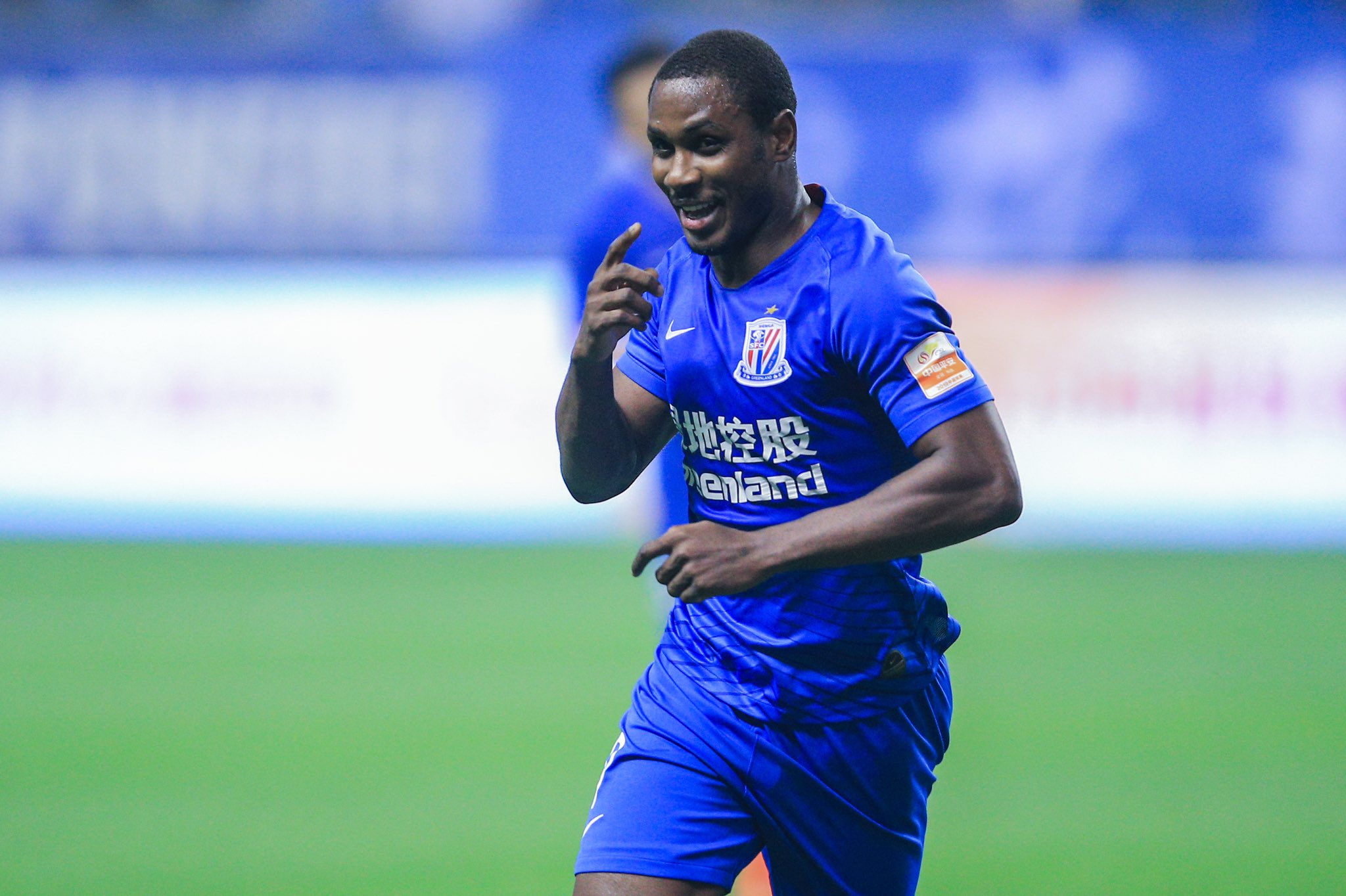 CSL: Ighalo Bags 5th Season Goal As Shanghai Shenhua Lose At Guangzhou