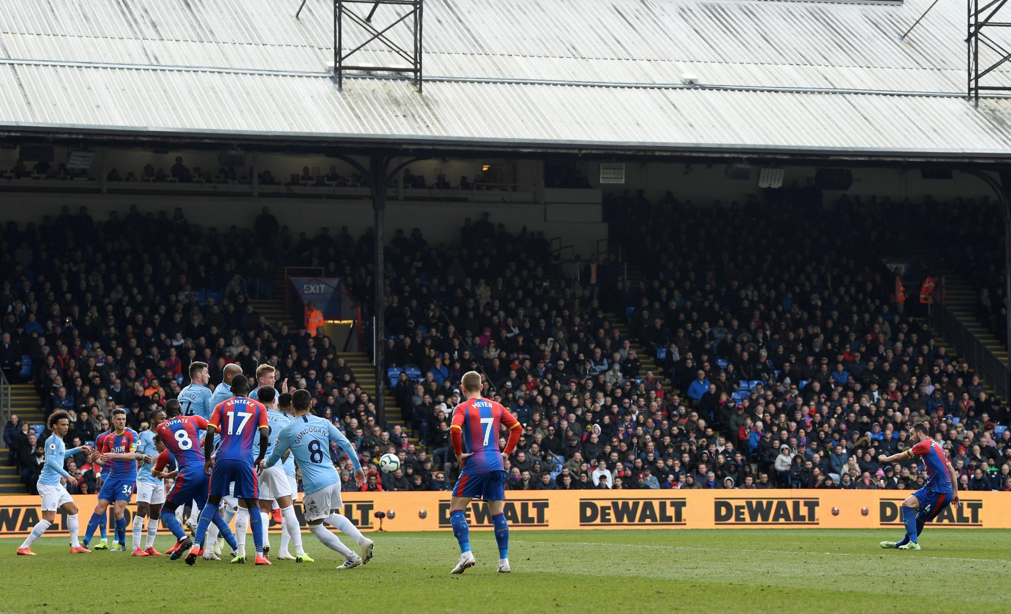 Man City Win At Crystal Palace To Go Top Of EPL