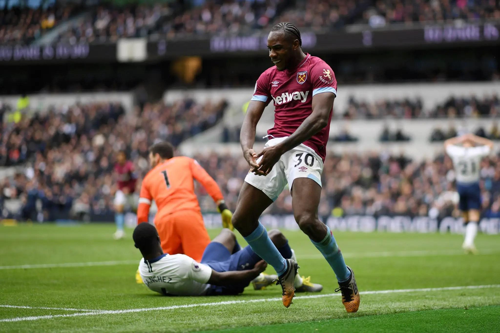 West Ham Win At Tottenham Stadium To Dent Spurs' UCL Hopes