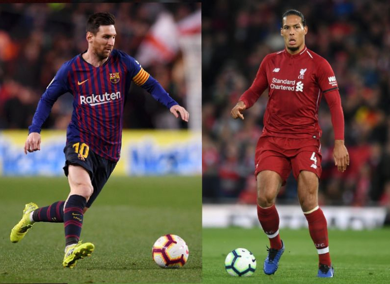 UCL Semis: Van Dijk Unruflled As Liverpool Face Messi-Inspired Barcelona