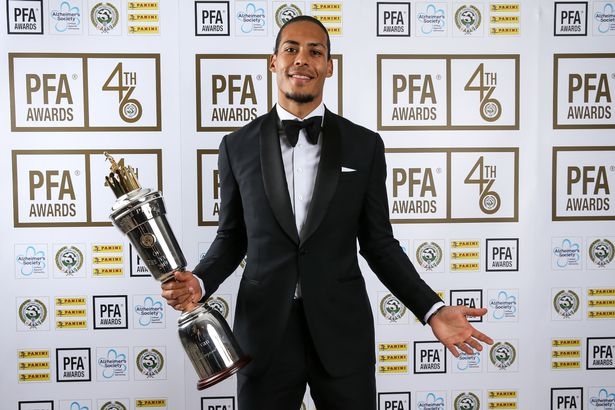 Van Djik Named PFA Player Of The Year; Sterling Wins Young Player Award