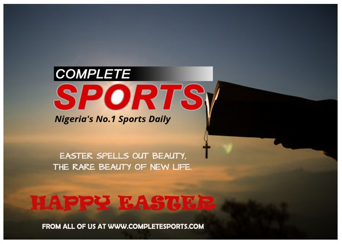 Easter Greetings From All Of Us At Complete Sports.
