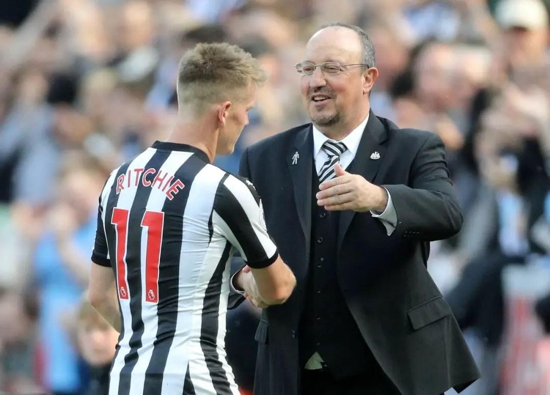 Benitez Slams Ritchie Reports