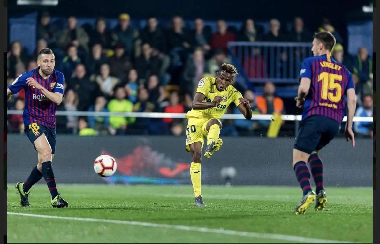 Chukwueze Targets Real Betis' Scalp After Villarreal's Home Draw Vs Barcelona