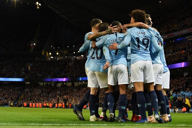 Man City Two Games From Setting Decade Old Record