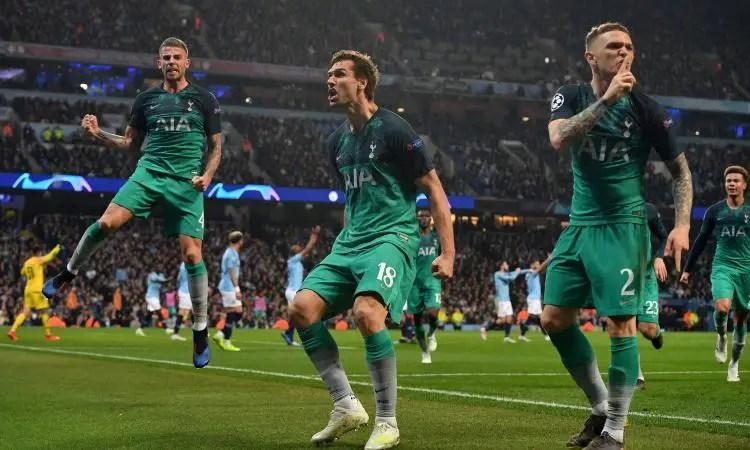 UCL: Tottenham Edge Man City As Liverpool Thrash Porto