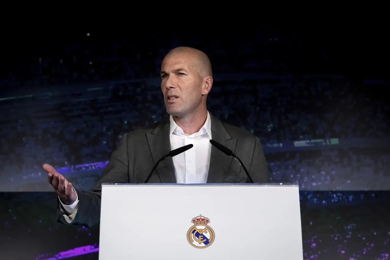Zidane Explains Keeper Decision
