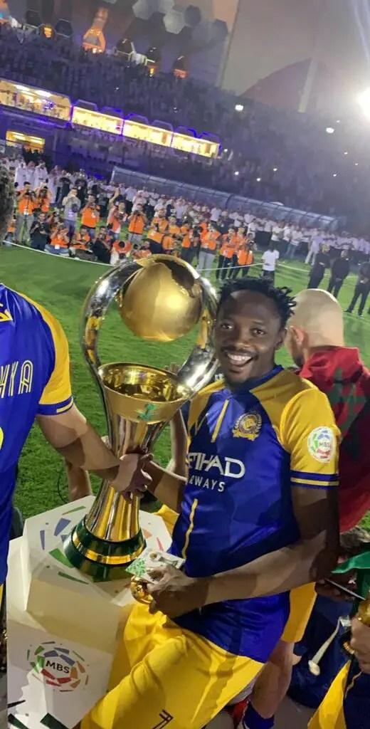 Musa Celebrates Al Nassr's Saudi League  Title Success
