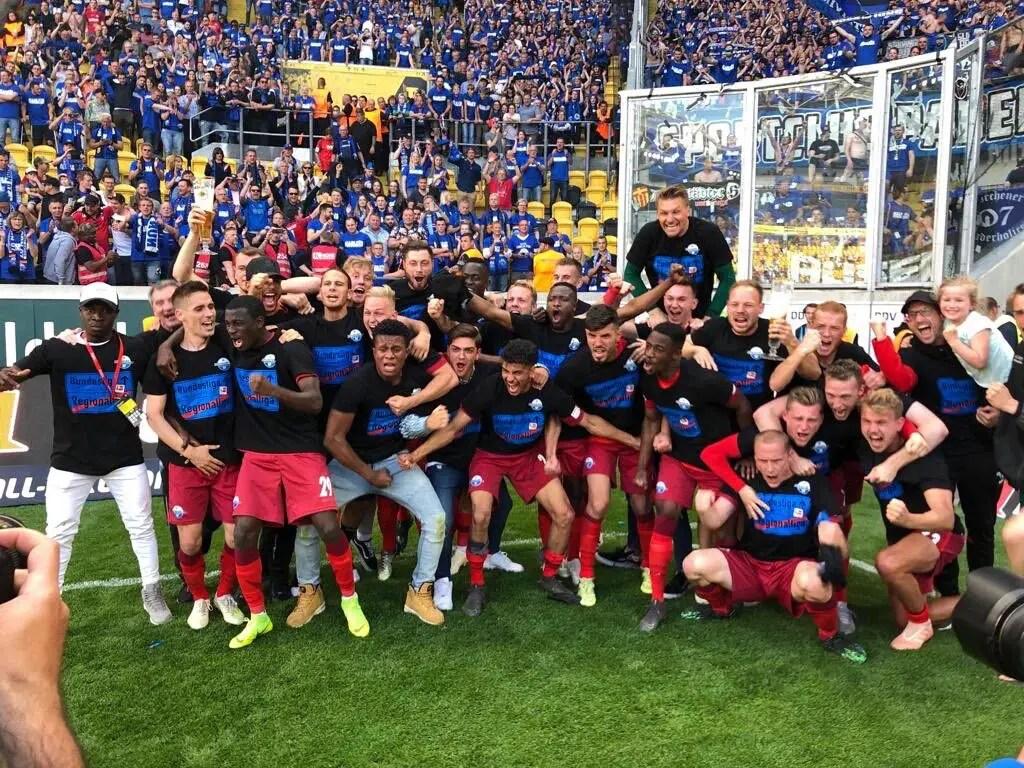 Collins ' SC Paderborn Secure Bundesliga Promotion Despite Defeat To Dynamo  Dresden