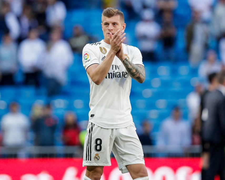 Kroos Extends Real Madrid Contract Until 2023