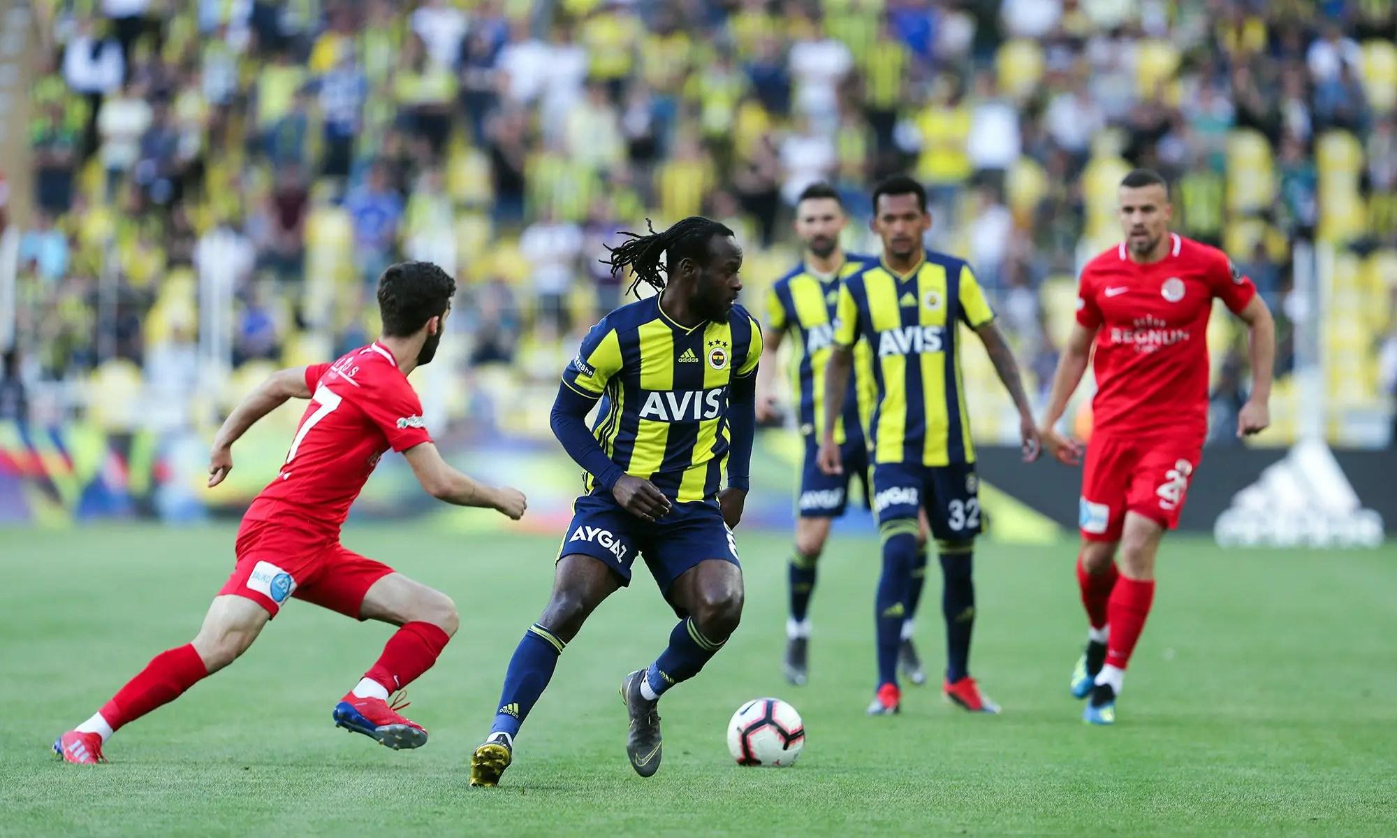 Moses On Target In Fenerbahce Home Win Vs Antalyaspor; Abdullahi's Bursaspor Relegated