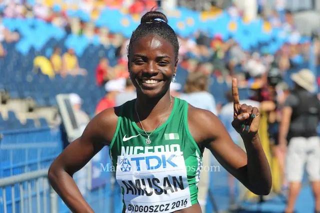 Amusan Seeks 1st IAAF Diamond League Win In Stockholm Tonight