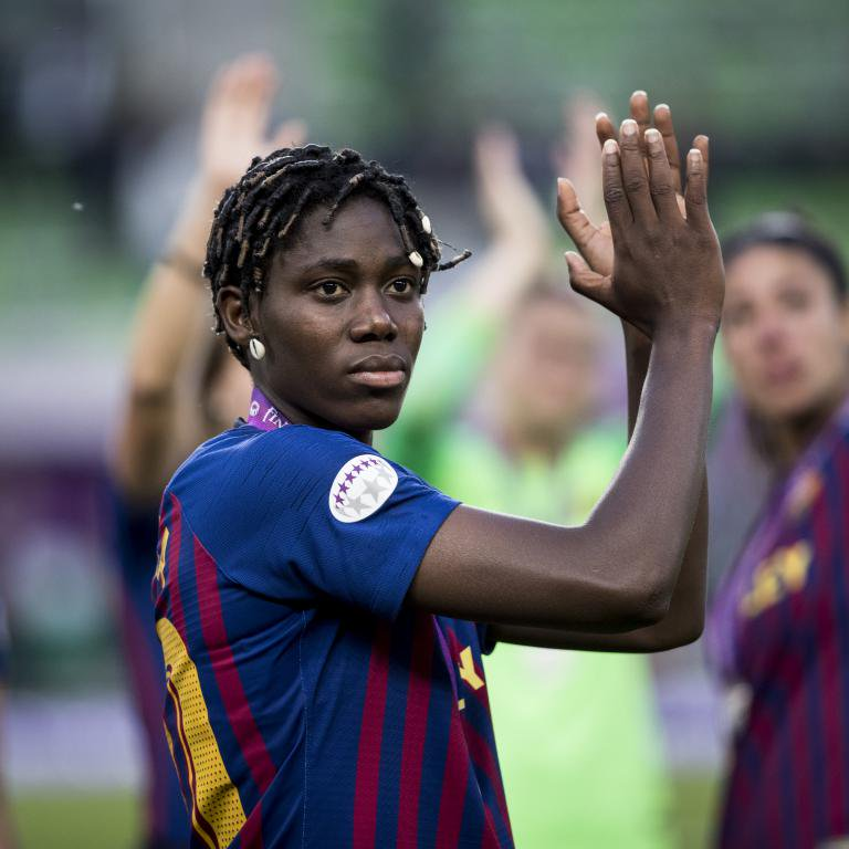 Oshoala Joins Barcelona Ladies On Permanent Basis, Pens Three-Year Contract