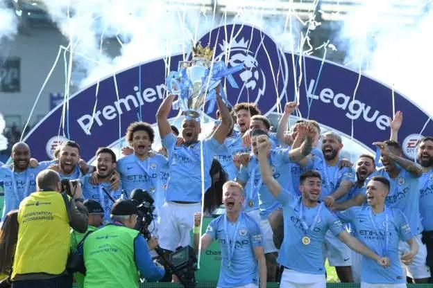 Man City Win Successive EPL Title; Iwobi, Ndidi Start, Iheanacho, Success Benched; Balogun Missing