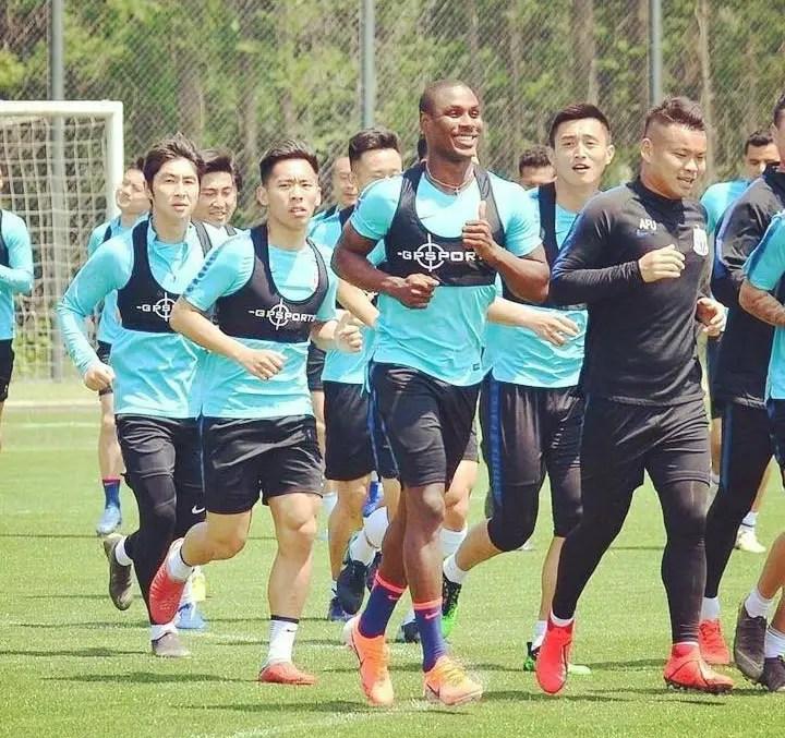 Ighalo Set For Shanghai Shenhua Return From Injury-Induced Setback