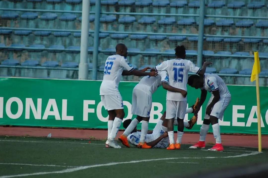 Iwuala Relishes Win Against Orlando Pirates