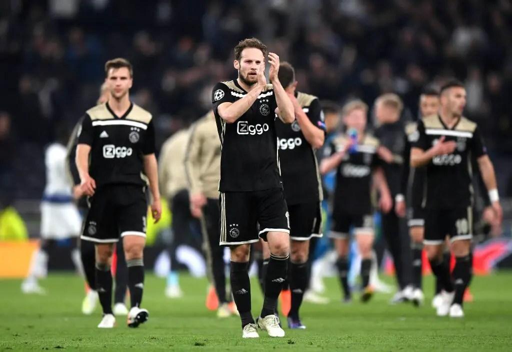 Oliseh Revels In Ajax UCL Semis  First Leg Win At Tottenham