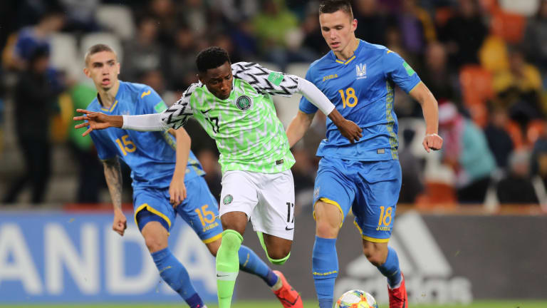 Poland 2010: Makanjuola Tips Flying Eagles To Improve Ahead Round Of 16 Match