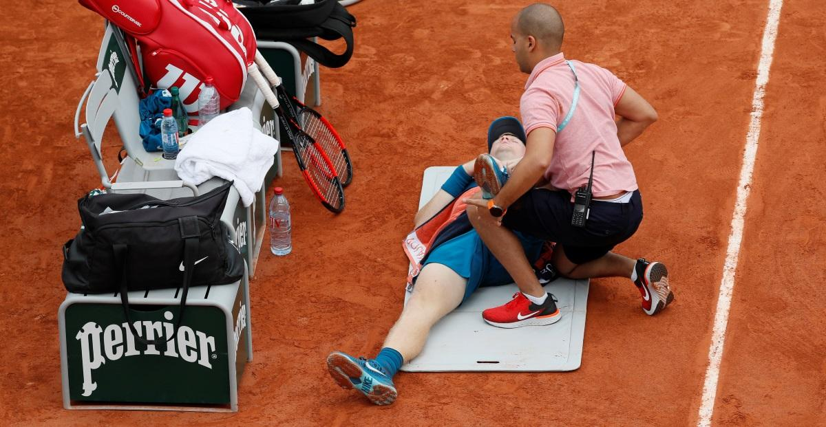 Edmund forced out of French Open