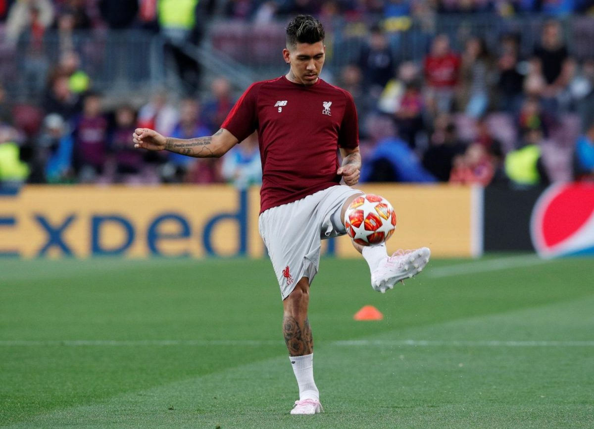 Roberto Firmino Tipped For Final Return