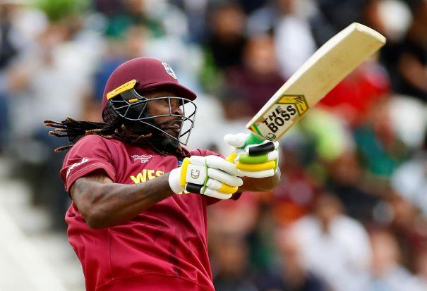 Gayle Blows Pakistan's Meagre Total Away With Sixes