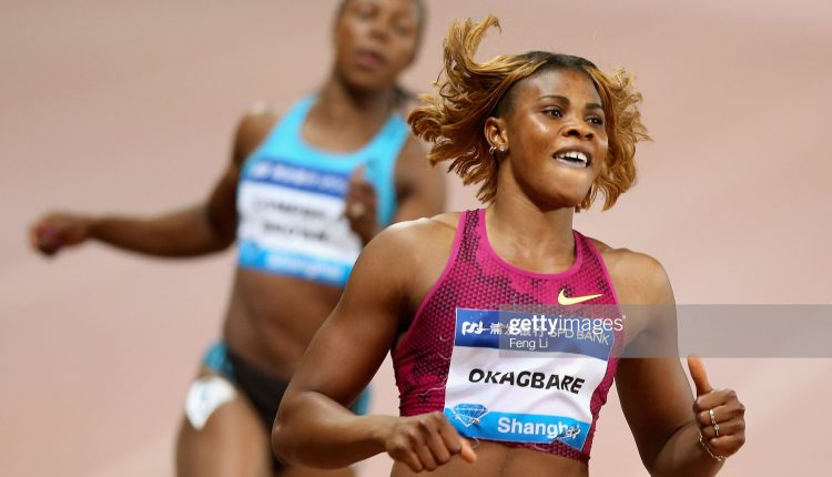Okagbare To Face Thompson, Ahye At Shanghai Diamond League