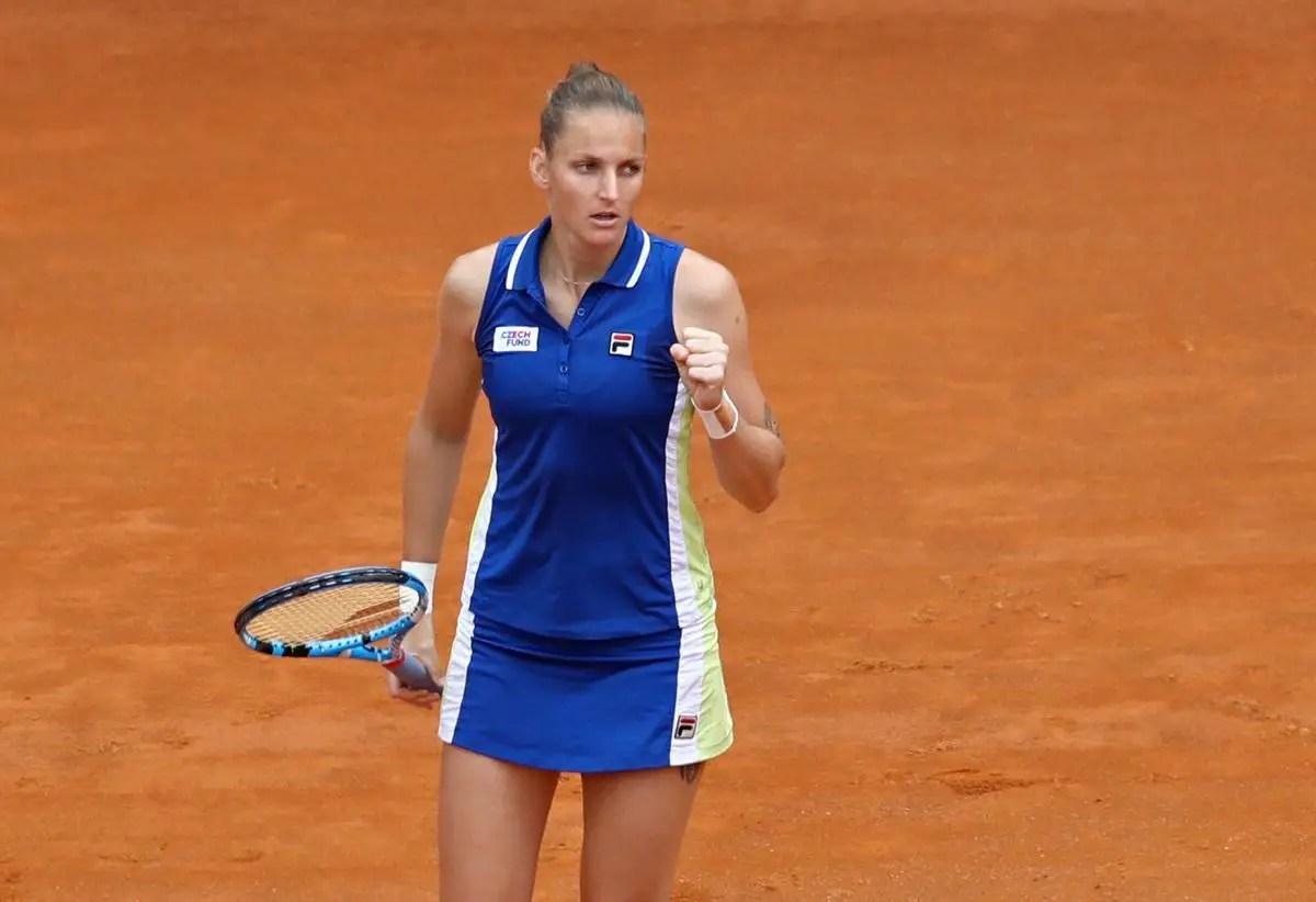 Pliskova Too Strong For Konta In Rome Final