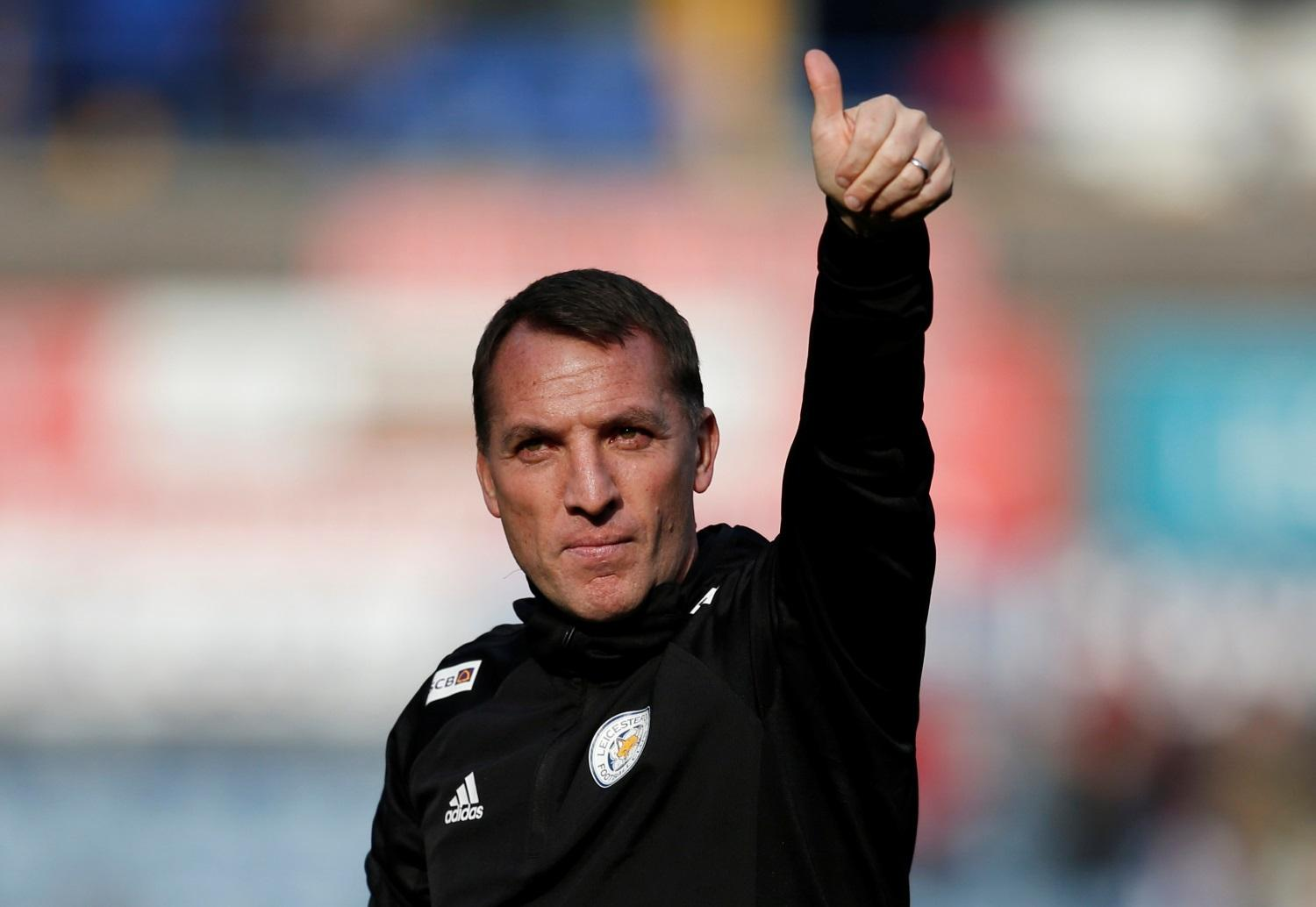 Rodgers Happy With Foxes Pressure
