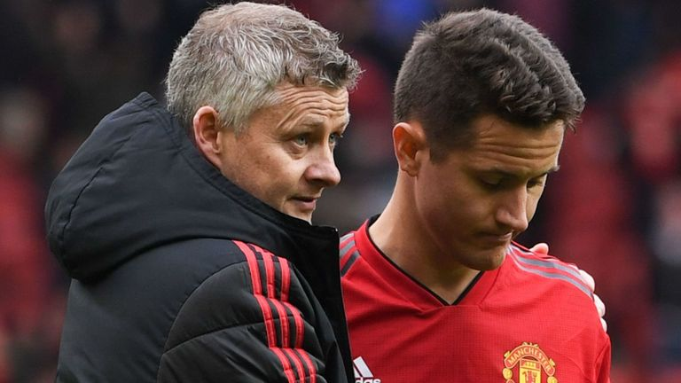 Herrera Confirms Manchester United  Exit At The End Of The Season
