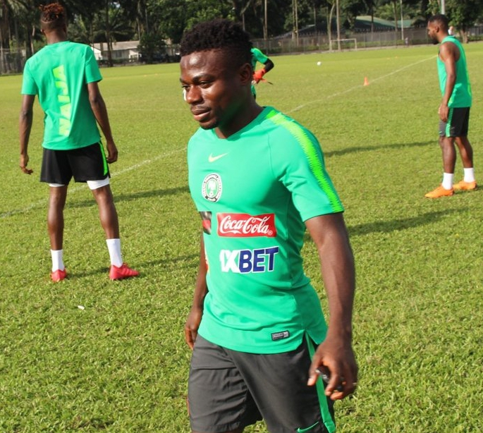Simon: I Can Play Left-Back For Super Eagles, Happy To Make AFCON 2019 Squad