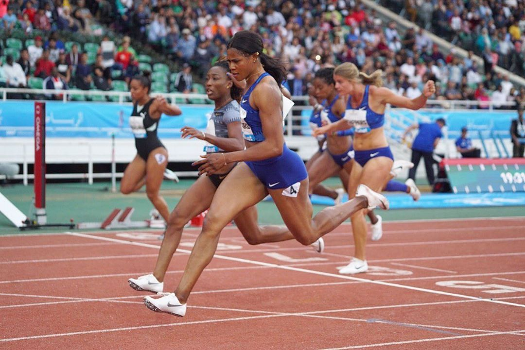 Okagbare Races To First Diamond League Win In Rabat; Clocks New 100m Season's Best