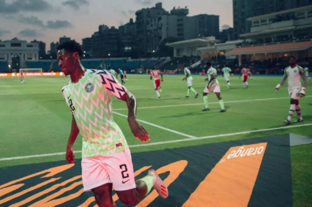 Rohr Hails Aina's Impressive Showing In Eagles' Win Vs Burundi