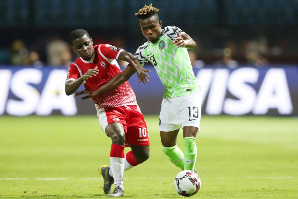 Chukwueze, Collins Start For Eagles Against Bafana; Aina, Simon Drop To Bench