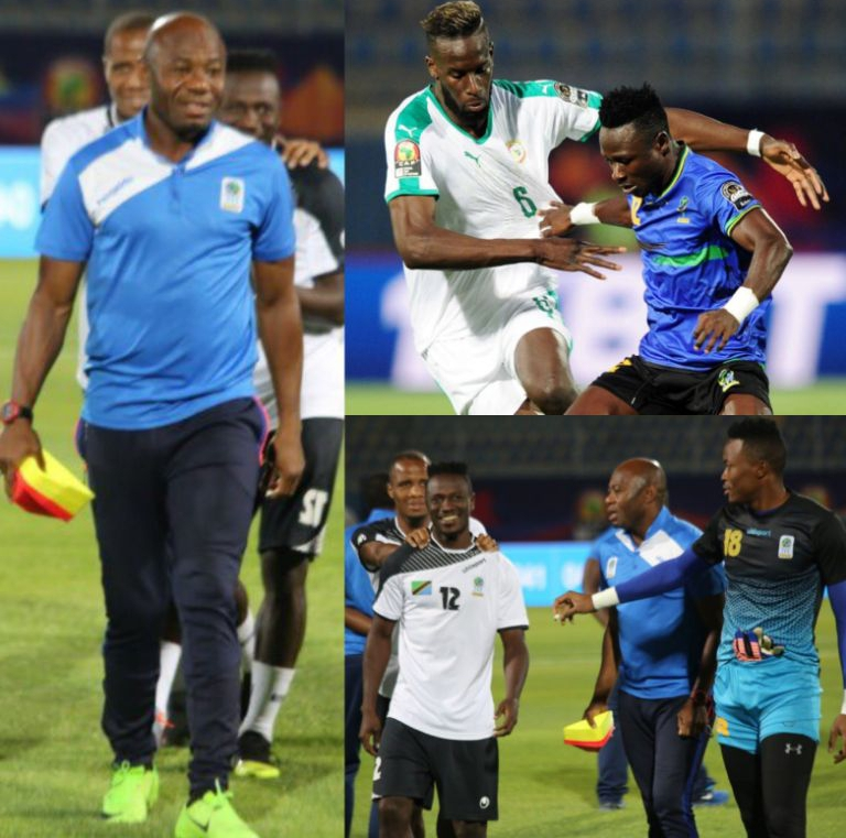 Amuneke: Tanzania Still In Race For AFCON 2019 Round Of 16 Spot