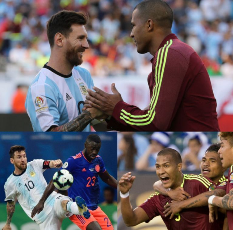 Copa America Q-Finals:  Rondon Boasts Venezuela Will Knockout Messi's Argentina