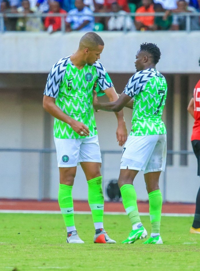 Rohr Rules Troost-Ekong Out Of Super Eagles,  Zimbabwe Friendly