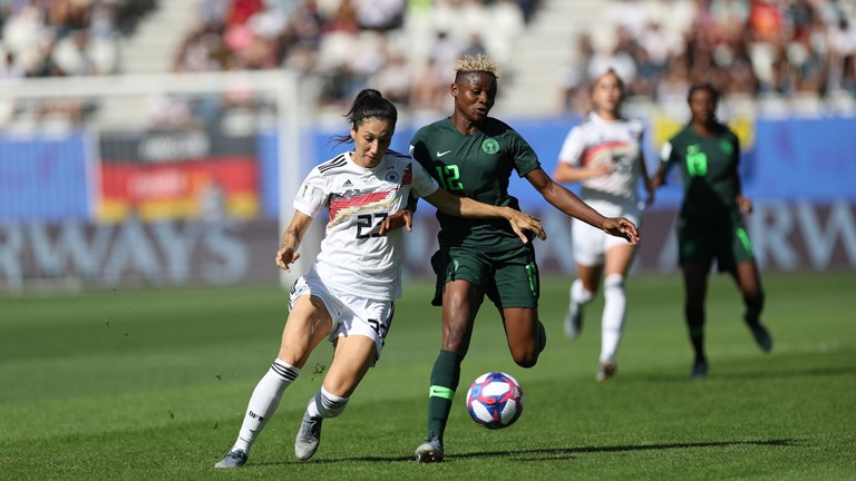 Super Falcons Out of France 2019, Lose 3-0 To Germany
