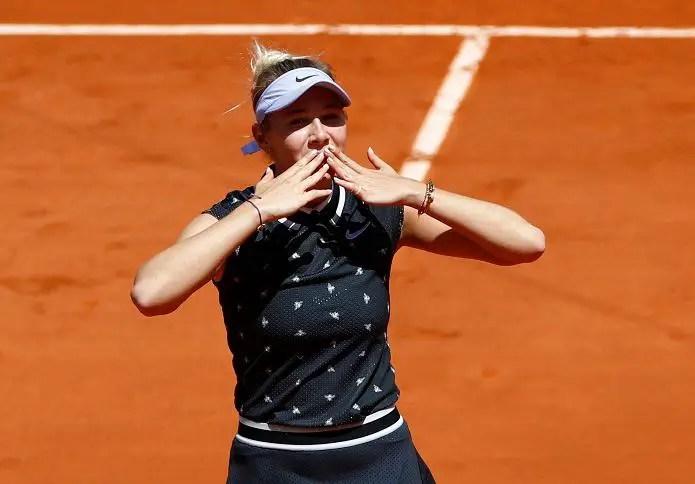 Anisimova Pulls Off Shock Win In Paris
