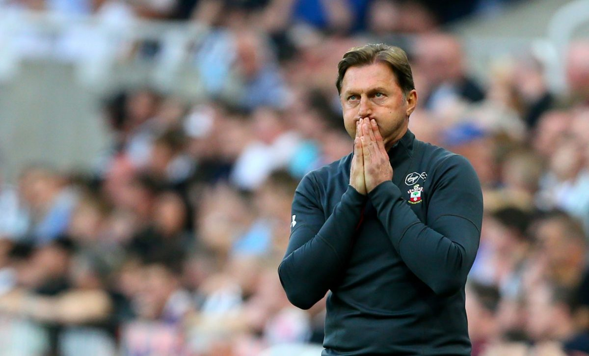 Hasenhuttl Outlines Top Half Target
