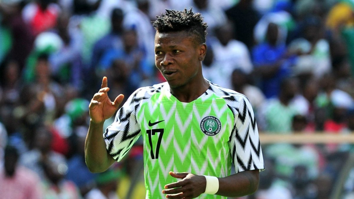 Kalu Collapses In Super Eagles Training, Now In Stable Condition