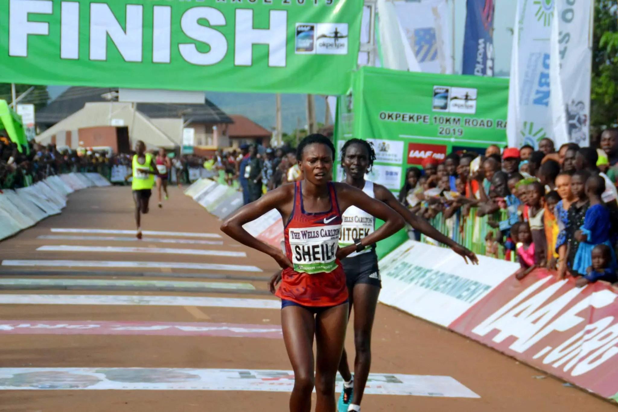 2019 Okpekpe Race Winner Chelangat Breaks Africa's 10km Race Record