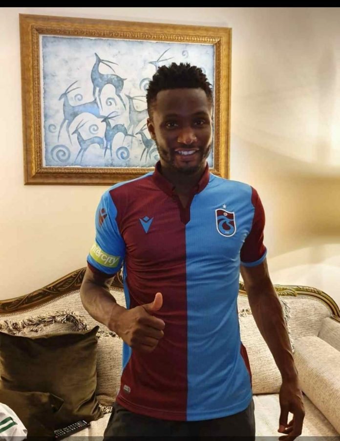 Mikel Joins Turkish Club Trabzonspor On Two-Year Contract