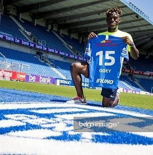 Odey Unveiled By KRC Genk After €3.5m Transfer From FC Zurich